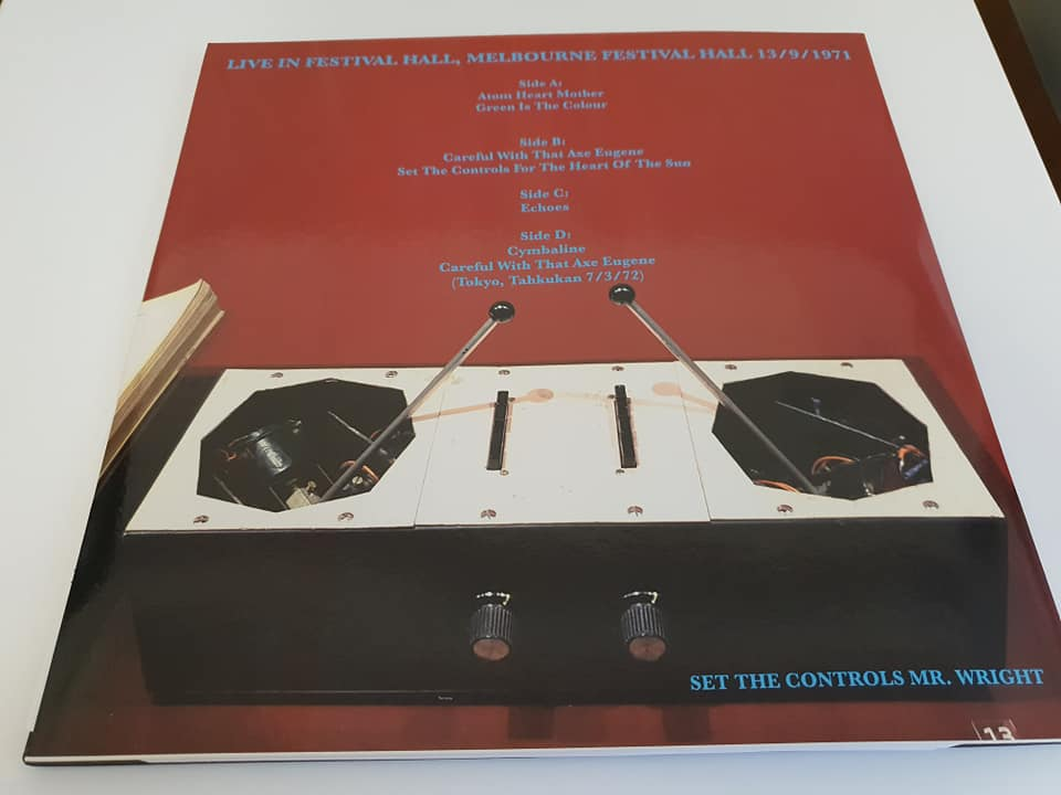 Pink Floyd Azimuth Coordinator Coloured Vinyl Lp