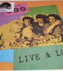 Buy this rare 999 record by clicking here